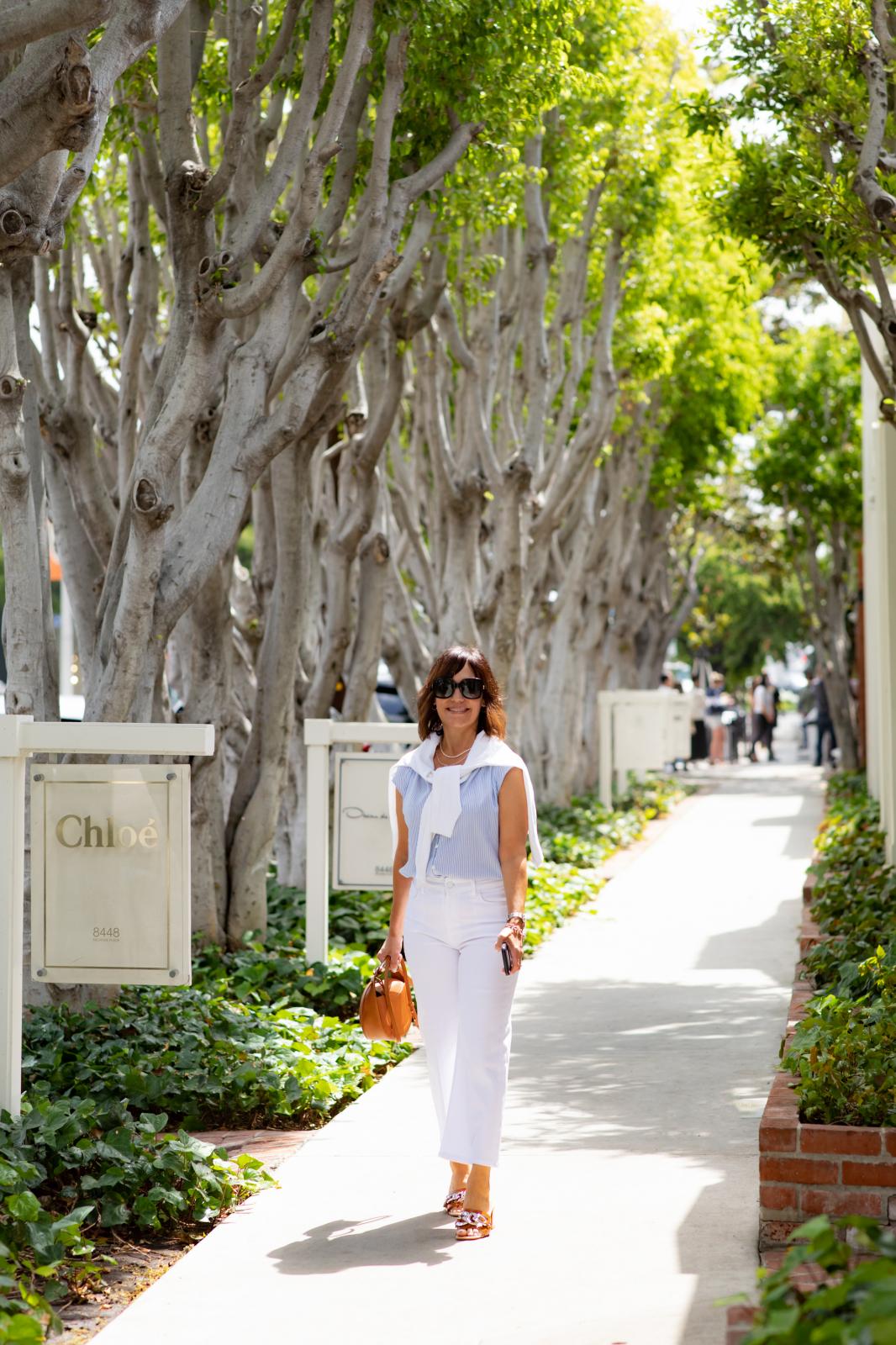 Blouse, white denim, summer sandals, summer style 2021, gucci singlasses, chloe handbag